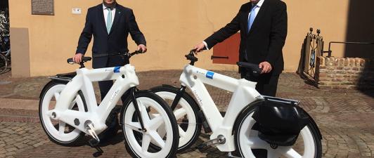 Gemeente Zwolle neemt circulaire dienstfietsen in gebruik