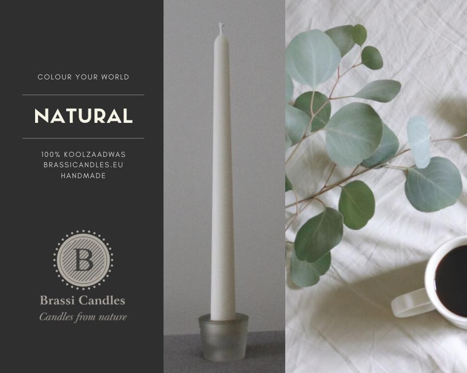 BrassiCandles - plantaardige kaarsen