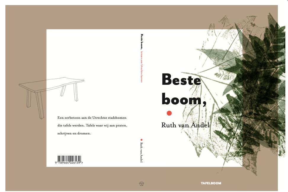 Nieuw boek van Tafelboom: eerbetoon aan stadsbomen die tafels werden