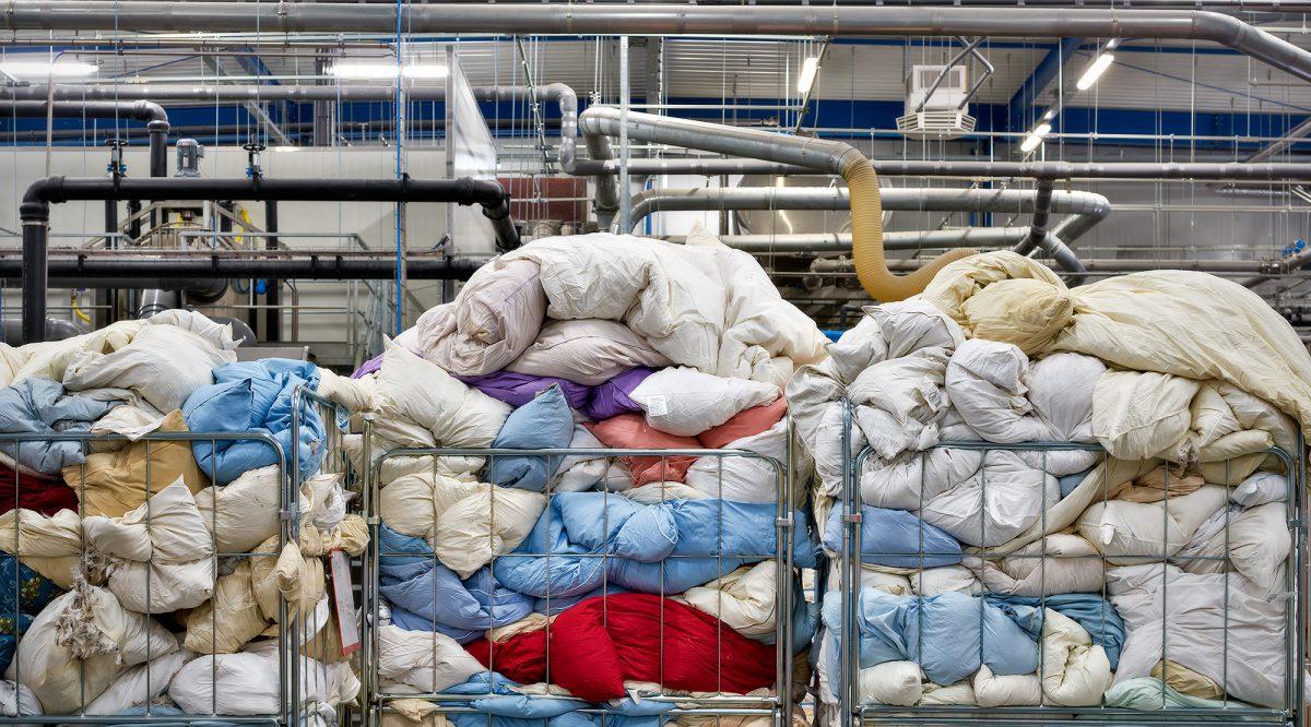 Ducky Dons – Recycling donzen dekbedden en kussens